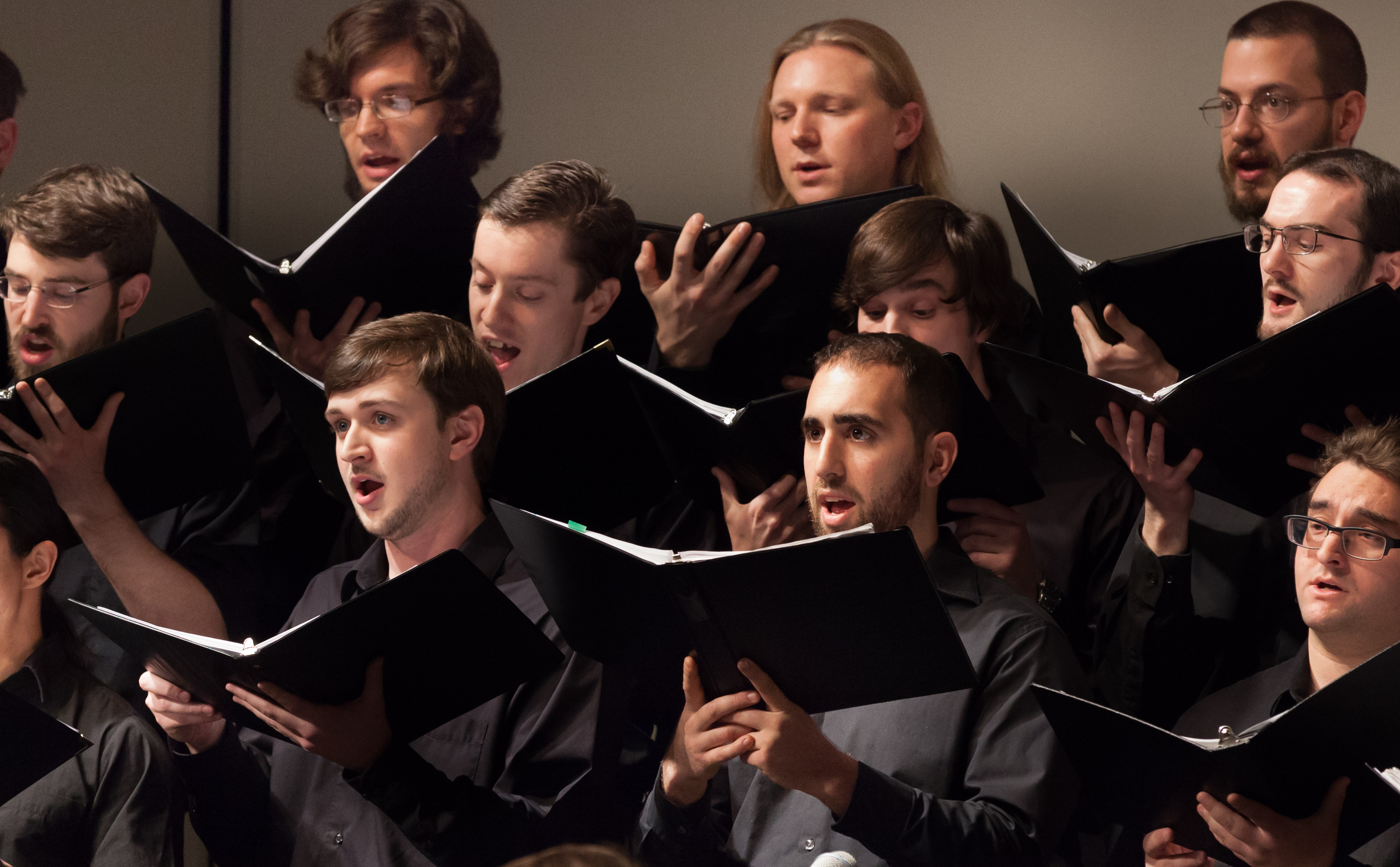 Choir Closeup (Conrad Zeglin)